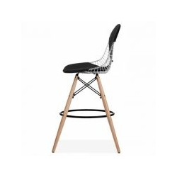 Maya bar stool wood