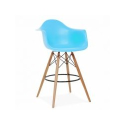 The tower bar chair wood Eames