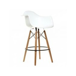 The tower bar chair wood Eames