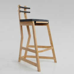 "Bar chair ""Trapeze"""