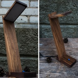 "Accessory ""Wooden lamp"""