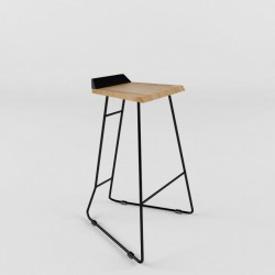 Bar chair (collection ORIGAMI TAB)