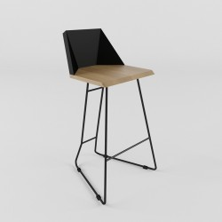 Bar chair (ORIGAMI collection)