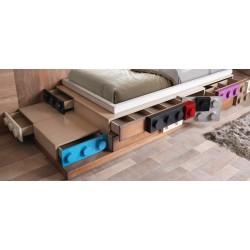Кровать с ящиками Legos