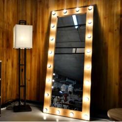 Mirror LOFT with lighting