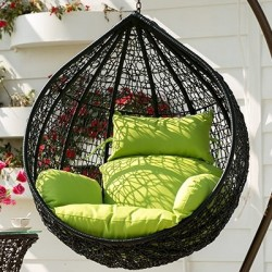 Hanging chair cocoon Nest02. A lot of flowers. Free shipping!