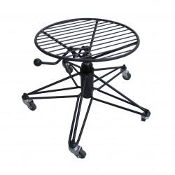 Adjustable height stool 360