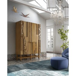 Stylish wardrobe Armario Nature