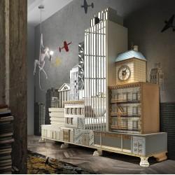 Modular wall Mueble Manhattan