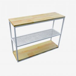 Console Wood Grid