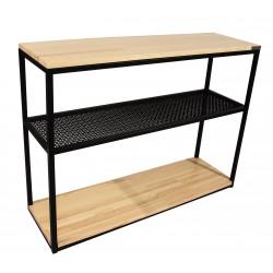 Консоль Wood Grid-1