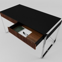 Стол для работы ARRIS Chrome