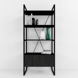 ARRIS bookcase BLACK
