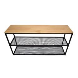 Консоль Wood Grid-2