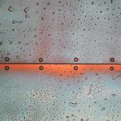 "3D plaster panel ""Copper Oxide"""