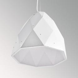 Concrete lamp BRIOLETTE (white)