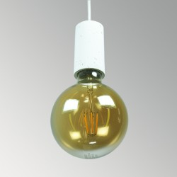 CONCRETE LAMP RECEPTACLE (SMALL CYLINDER)