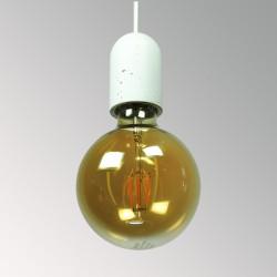 CONCRETE LAMP RECEPTACLE (SMALL - BARREL)
