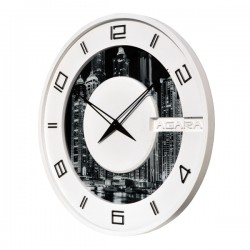 """Бетонные часы """"LORI white"""""""