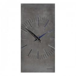 """Бетонные часы """"ZEGO black/mirror"""""""