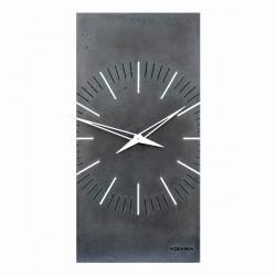 """Бетонные часы """"ZEGO black"""""""