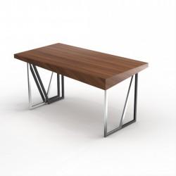 Дизайнерский рабочий стол ANGLE WALNUT