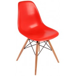 Eames chair (wooden legs)