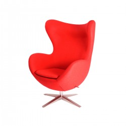 Egg chair with otmanli