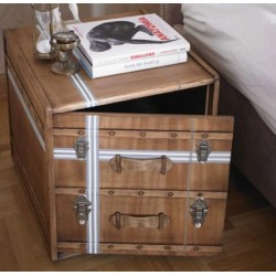 Bedside table Suitcase