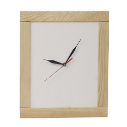 Настенные часы из дерева серии Whitess (38 x 31.5 см) WoodMood