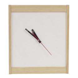 Настенные часы из дерева серии Whitess (38 x 38 см) WoodMood