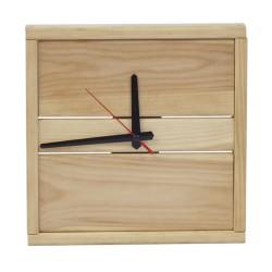 Настенные часы из дерева серии Massives (25 x 25 см) WoodMood