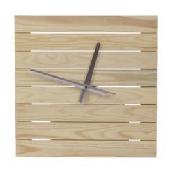 Настенные часы из дерева серии Airy (33 x 33 см) WoodMood