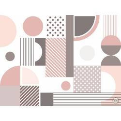 Декоративные обои Bright Geometry