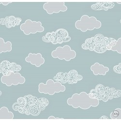 Декоративные обои KIDS clouds
