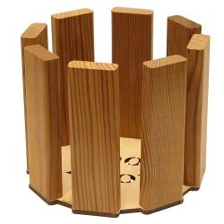 Деревянное кашпо Затмение WoodMood