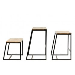 The floor horizon bar stool