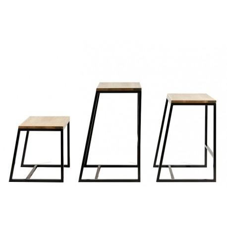 The floor horizon bar stool