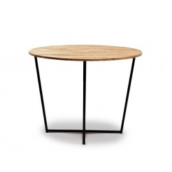 The table is round