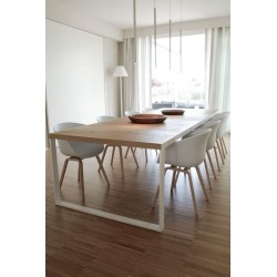 "Dining table ""F S H"""